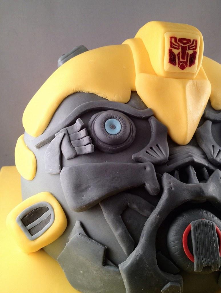 Transformers Bumblebee Cake Transformers Bumblebee Cake