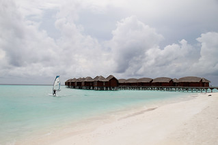 Wind Surfing at Anantara Dhigu Maldives | by irol.trasmonte