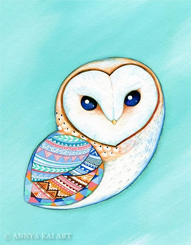 Barn Owl | by Annya Kai Art