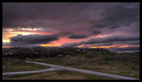 Sunset 24 May 2012 Faroe Islands | by Jákup