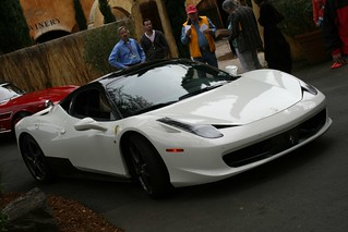 White 458 Italia | by drbeasleys.com