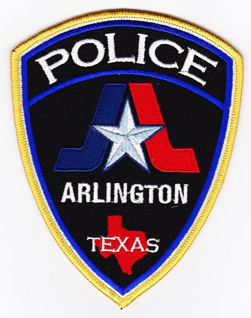 Tx Arlington Police Department Patch For Waubonsee