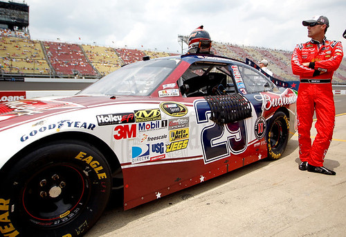 Harvick Scores 10th Place finish at Michigan | by Folds of Honor Foundation