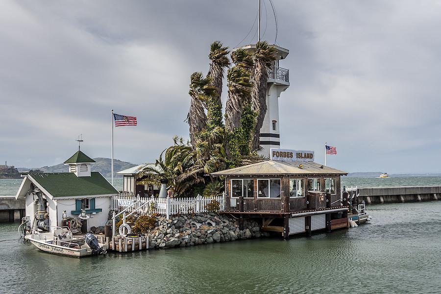 Forbes Island Underwater Restaurant