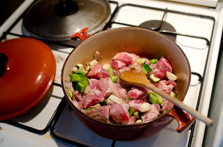 June 15th Pork White Wine Stew | by The Hungry Cyclist