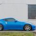 Nissan 370z (Monterey Blue) on Gram Light 57s Pro