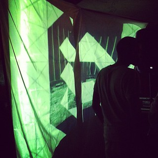 @uberduce at the visuals @coldturks | by *spo0ky*