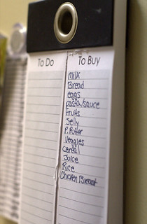 Make a Grocery List Before You Go (192/365) | by trenttsd