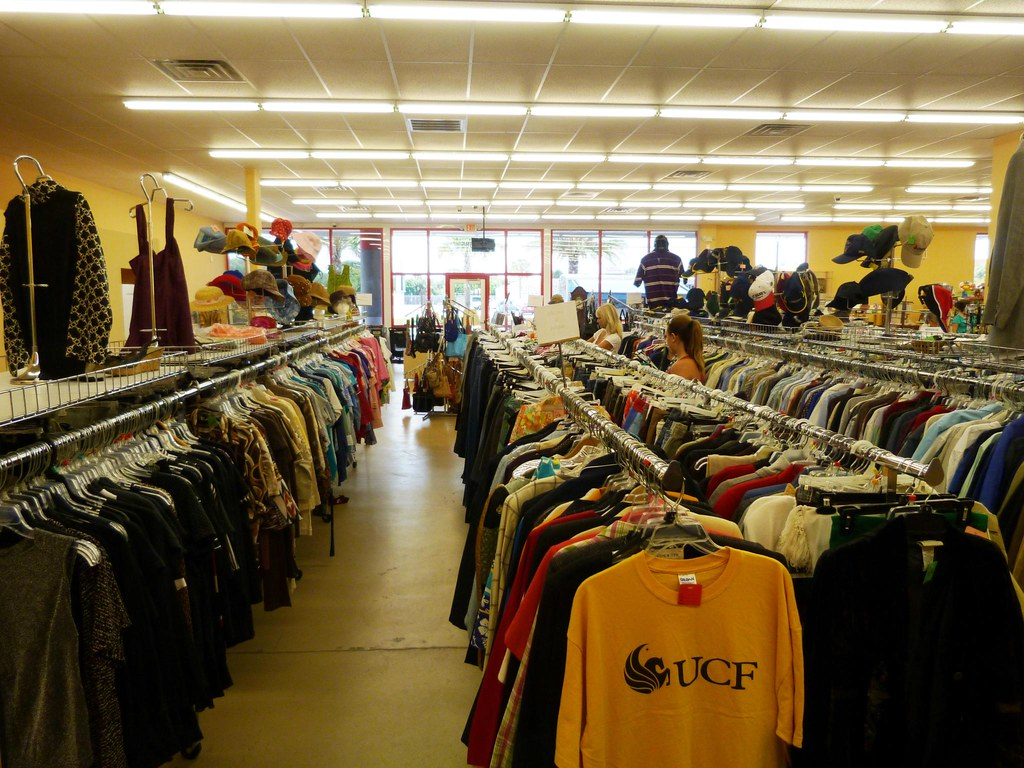 Do thrift stores buy used clothes