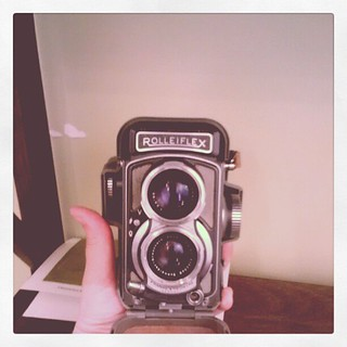 My grandfather's Rolleiflex | by (afm)