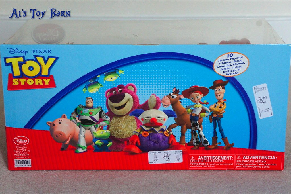Toy Story Action Figures Set : Toy story als toy barn escape playset launcher action links