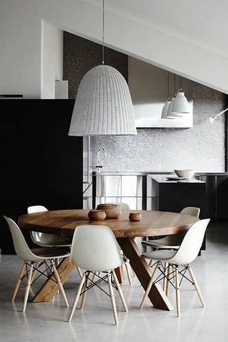 beautiful dining areas | by the style files
