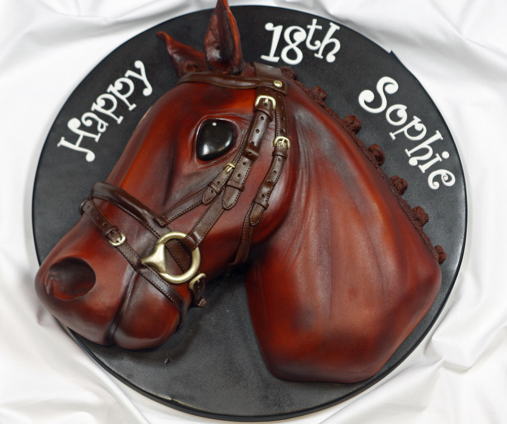 Horse Head Cake A Horse Head Cake For My Friends