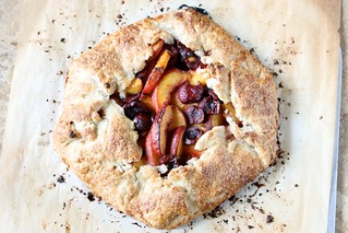 Peach Cherry Galette 002 | by Hungry Housewife