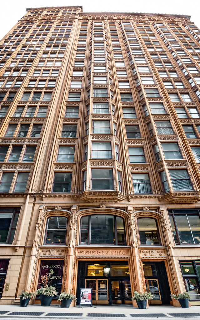 Yahoo Com Usa >> Fisher Building (1896-1907), front, 343 S Dearborn St, The ...