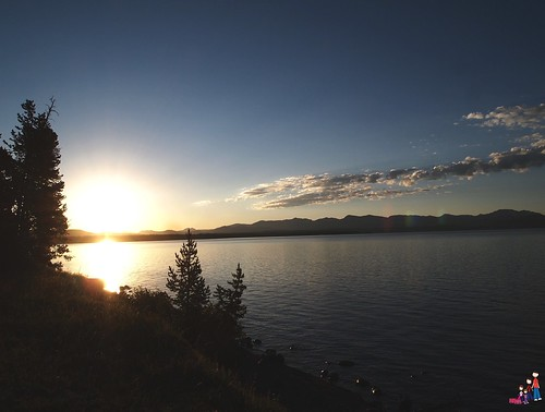 Sunrise over Lake Yellowstone | by iatraveler
