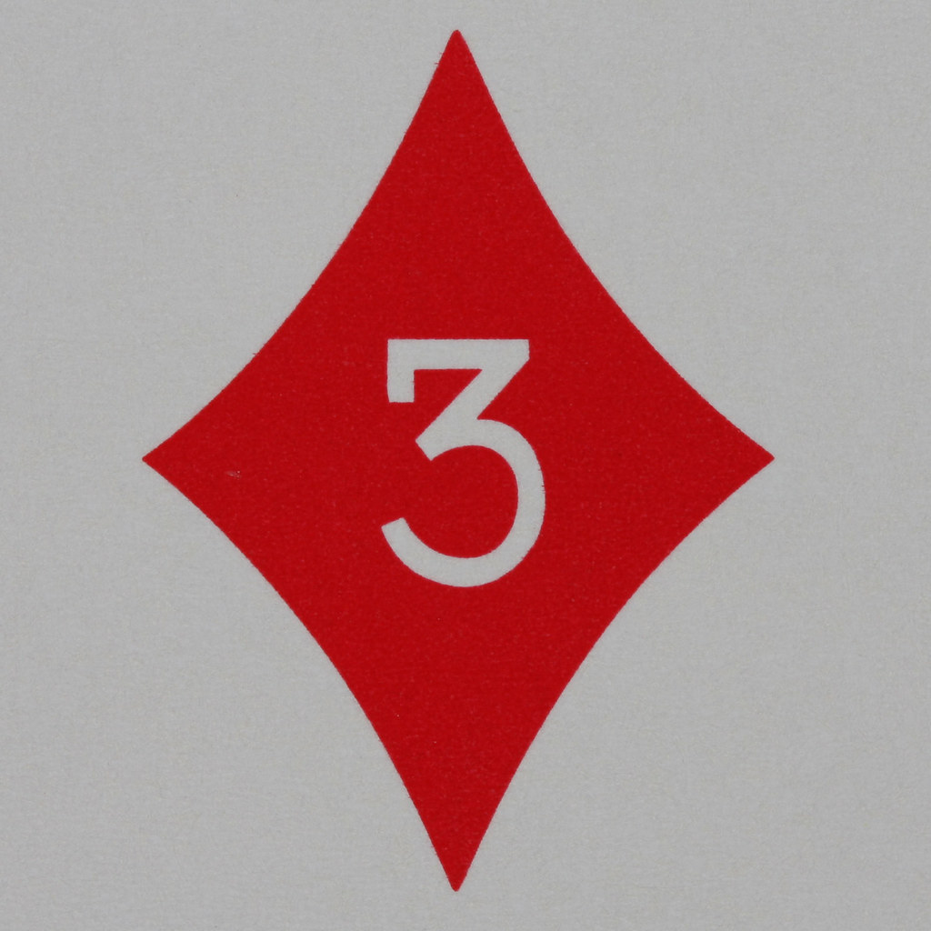 3 Of Diamonds Card