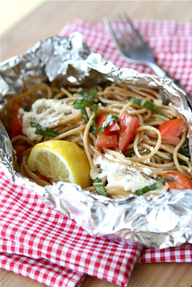 Whole Wheat Pasta Packet Recipe with Goat Cheese & Tomatoes...For Camping! | by CookinCanuck