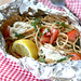 Whole Wheat Pasta Packet Recipe with Goat Cheese & Tomatoes...For Camping!