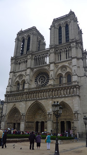 Outside Notre-Dame | by Lance McCord