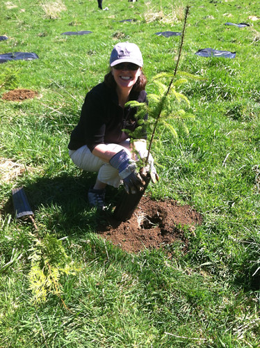 Jeanne,Earth Day at Circle Creek 2012 | by North Coast Land Conservancy