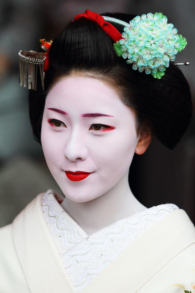 Maiko Girl Located Gion Tatsumi Bashi Kyoto Jun 3 201 Flickr