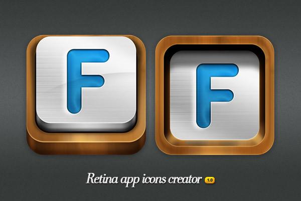 Wood - Retina app ic