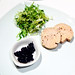 Cold Poached Foie Gras, Black Pepper, Sea Salt, Huckleberry Compote ($20)