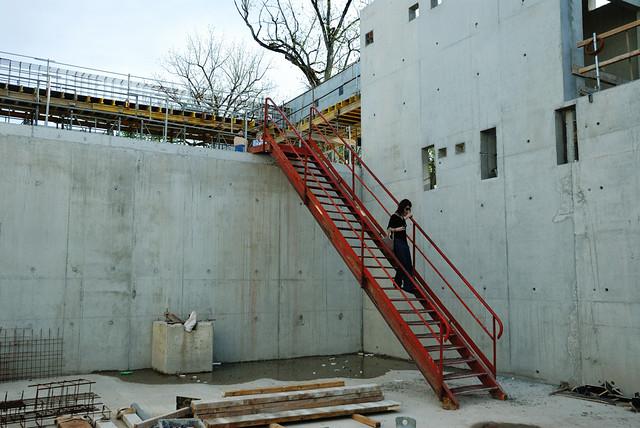 Visite du chantier du mus e soulages de rodez flickr - Musee soulages rodez horaires ...