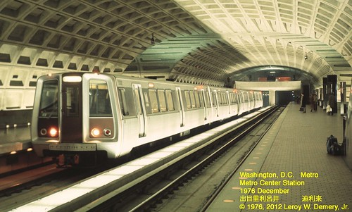 When the Washington Metro Was New - 1 | by Leroy W. Demery, Jr.