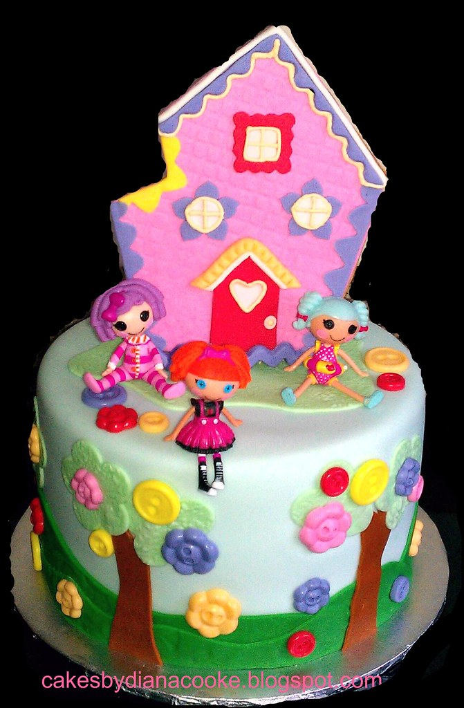 Lalaloopsy cake  inspired by valscustomcakes  Cakes By Diana Cooke ...