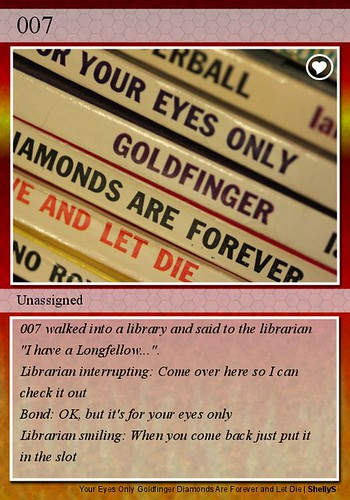 007 - Unassigned | by petahopkins