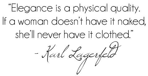 Karl Lagerfeld Quote | by DolceDanielle