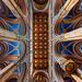 A Fóti római katolikus templom mennyezete