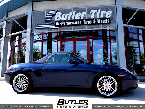 Porsche Boxster with 18in Victor LeMans Wheels | by Butler Tires and Wheels
