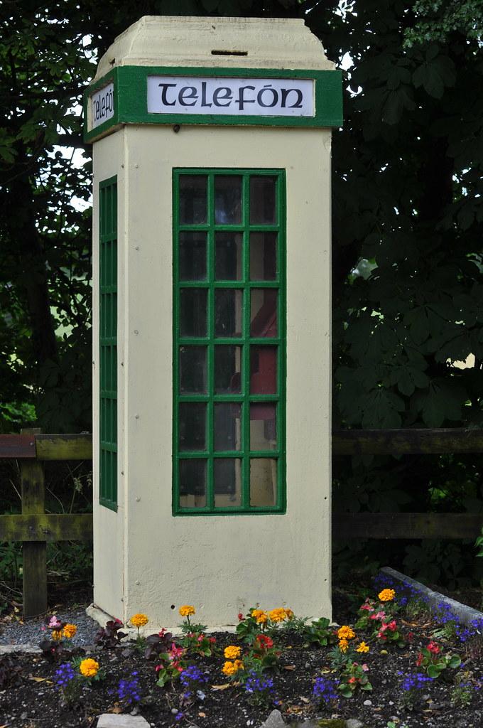 An old fashioned, coin-operated, Irish Telephone Box - Bro ...