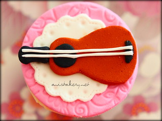 musical themed cupcakes | by AnisBakery.net
