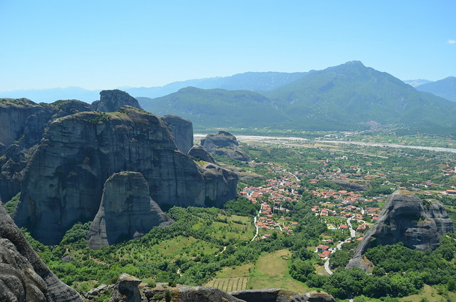 On the foot of Meteora