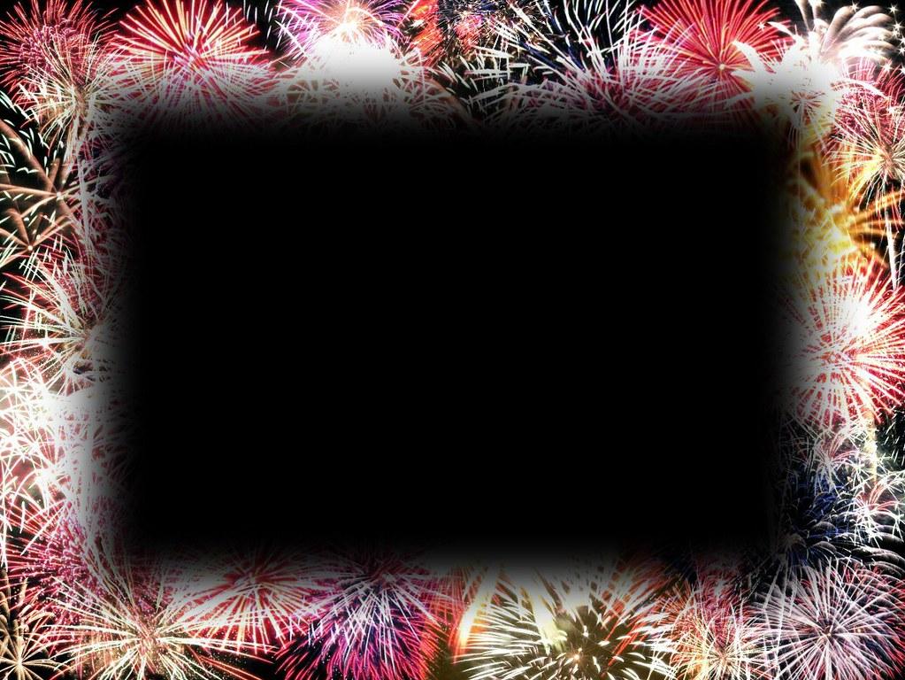 Fireworks Frame Fireworks Frame Created Using Photoshop
