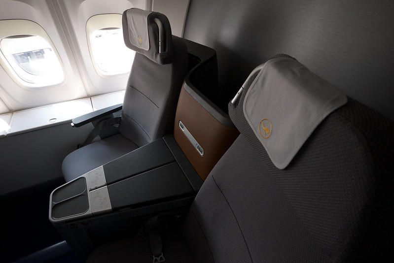 Lufthansa new business class seats