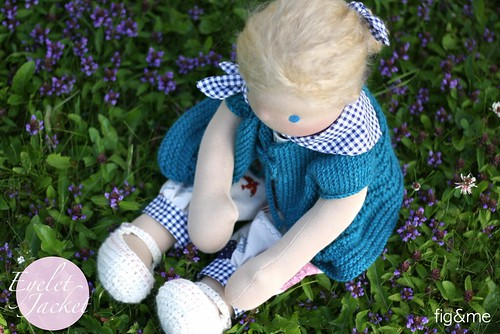 A knitted jacket for Pili | by Fig & Me