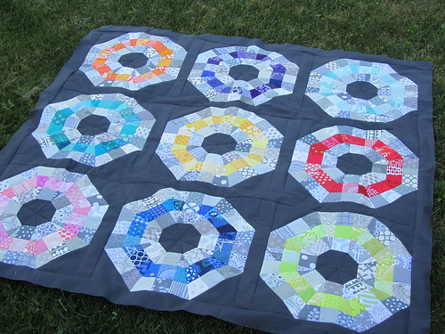 Octagonal Orb Top Finished | by A Quilting Jewel