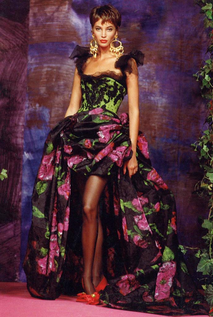 Christian Lacroix Haute Couture Fall-Winter 1990 ...