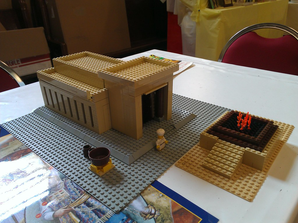 Lego solomon 39 s temple www for How to make paper temple