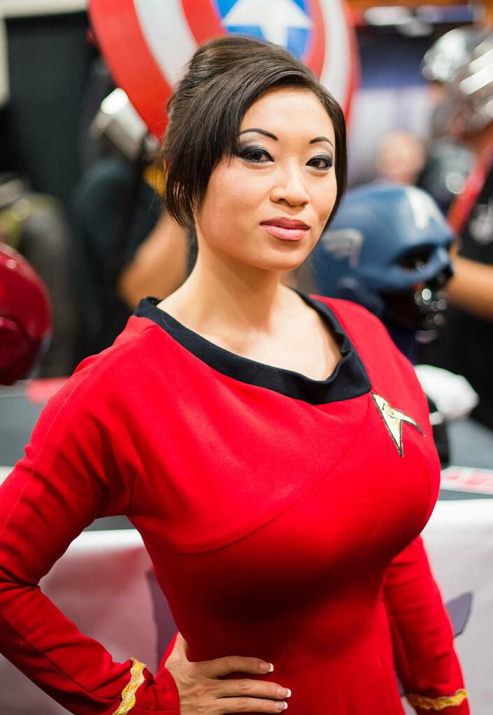 Yaya Han - Star Trek  During Sdcc At San Diego Convention C  Flickr-9163