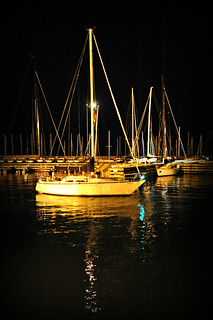 Night on the Harbor ~ The 104th Race to Mackinac | by Viewminder