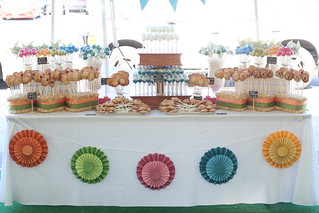 Colorful Cake and Pie Pop Display | by Sweet Lauren Cakes