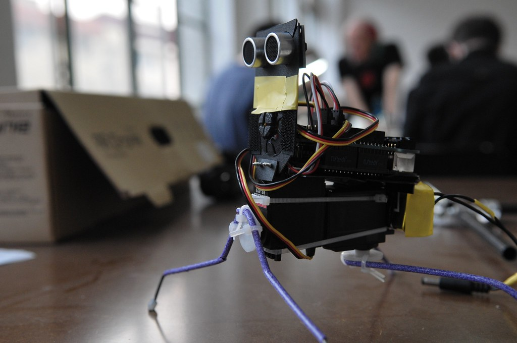 CHAOTIC VOLTAGE: WALTER - The Arduino Insect Robot