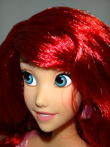 2012 Disney Store Singing Princess Dolls - Ariel Deboxed - Closeup Right Front View | by drj1828
