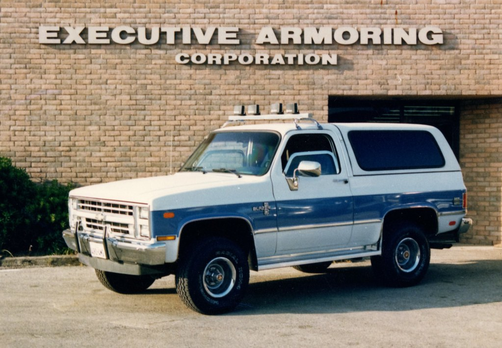 1984 Chevrolet Blazer By Executive Armoring Corporation Of Flickr